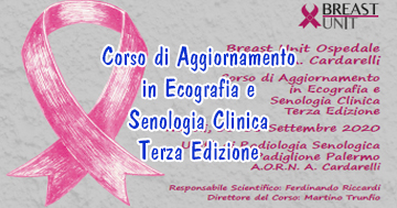 Corso di Aggiornamento in Ecografia e Senologia Clinica Terza Edizione