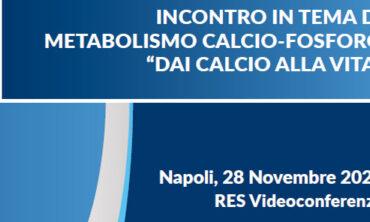 """INCONTRO IN TEMA DI METABOLISMO CALCIO-FOSFORO """"DAI CALCIO ALLA VITA"""""""